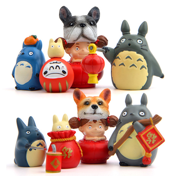 โมเดล My Neighbor Totoro โทโทโร่ เพื่อนรัก (1 ชุด 8 แบบ)