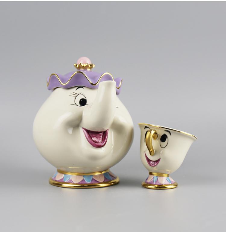 ชุดกาน้ำชา Beauty and the Beast - Mrs. Potts (ของแท้)