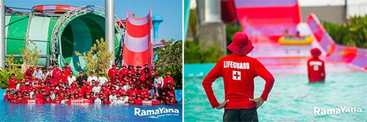 Lifeguard Ramayana water park