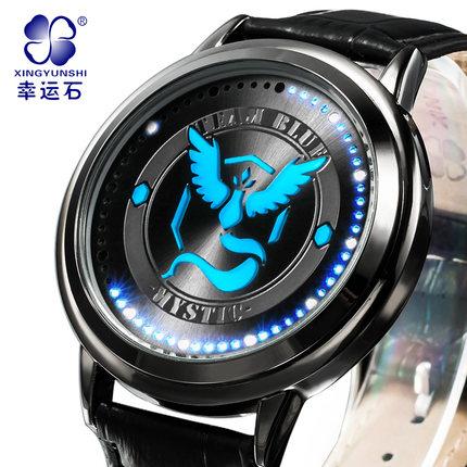 นาฬิกาจอสัมผัส LED Pokemon (ทีมสีฟ้า)**ของแท้**