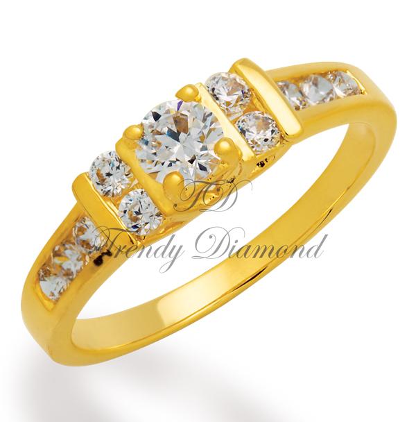 แหวนเพชร Elizabeth สีทอง สำเนา สำเนา