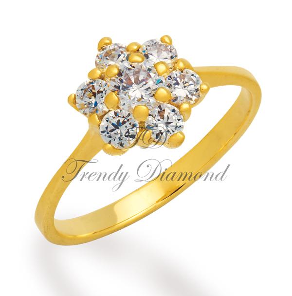 แหวนเพชร พิกุล สีทอง