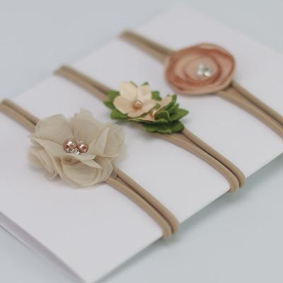 เซ็ทคาดผม 1 เซ็ท มี 3 เส้น รูปดอกไม้สีน้ำตาลอ่อน น่ารักมากๆค่ะ