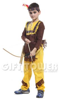 ชุดแฟนซีเด็กอินเดียแดง Indiana Boy มีขนาด S