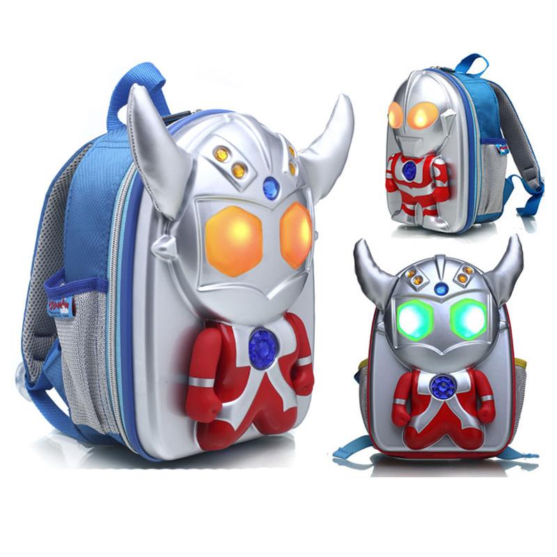 กระเป๋าสะพายเด็ก 3D อุตตร้าแมน