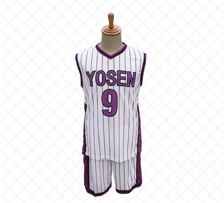 ชุดคอสเพลย์ Kuroko No Basket (คุโรโกะ โนะ บาสเก็ต) ทีม 5