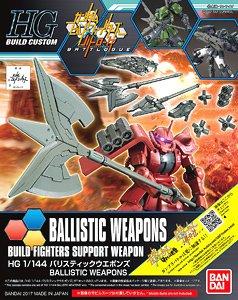 :HG BfX31 1/144 Ballistic Weapon 600yen
