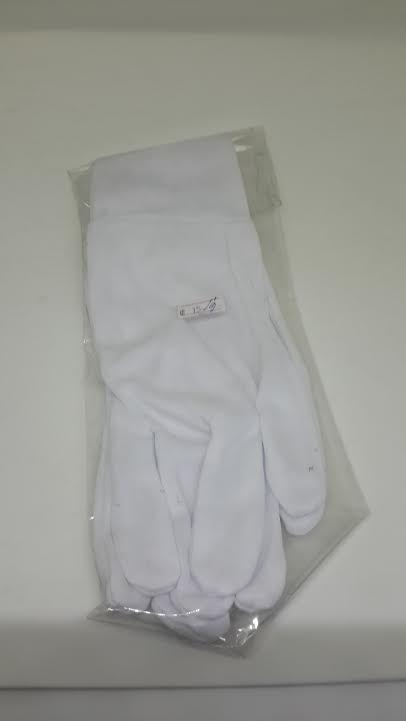 ถุงมือผ้าอย่างดี 1คู่/แพ็ค