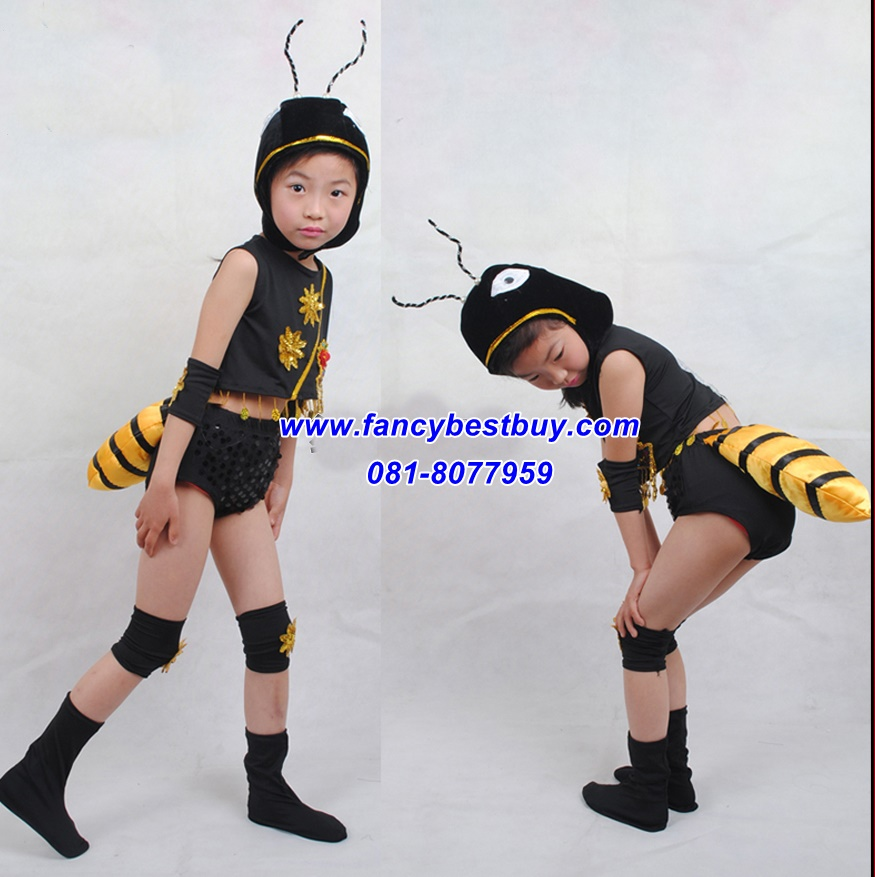 ชุดมด ANT เป็นชุดแฟนซีสัตว์ สำหรับการแสดง ใช้ได้ทั้งเด็กชายหญิง