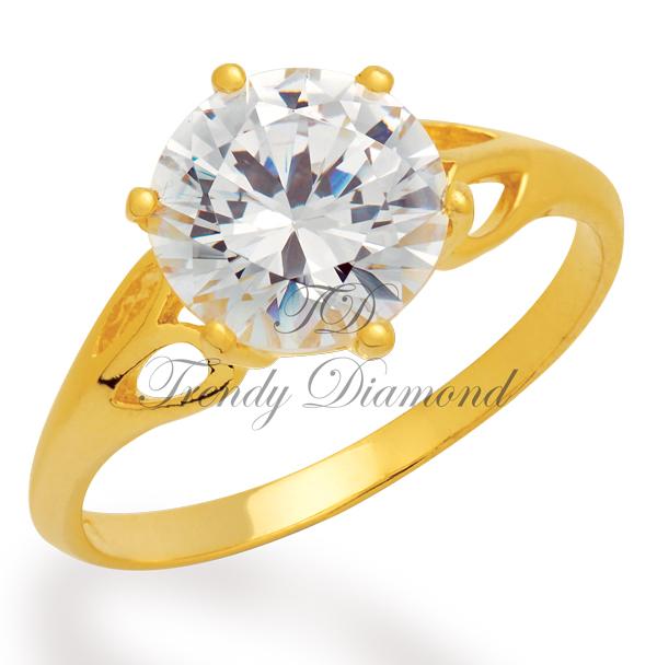 แหวนเพชร แหวน Sweethearth สีทอง