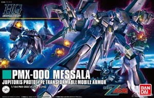 HGUC 1/144 157 Messala 3000y