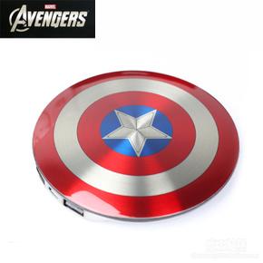 แบตสํารอง power bank (กัปตันอเมริกา) captain america**ของแท้ลิขสิทธิ์**