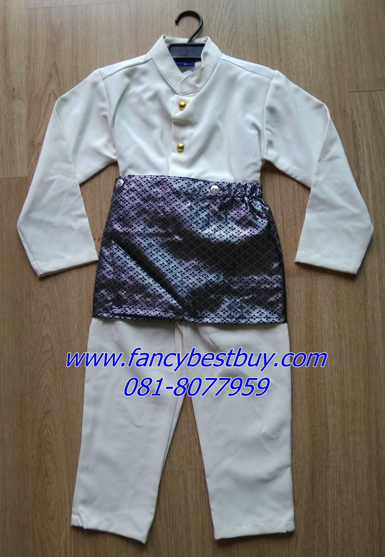 ชุดประจำชาติอินโดนีเซีย สำหรับเด็กชาย Indonesia ขนาด S (เหมาะกับเด็ก 105-120 ซม)