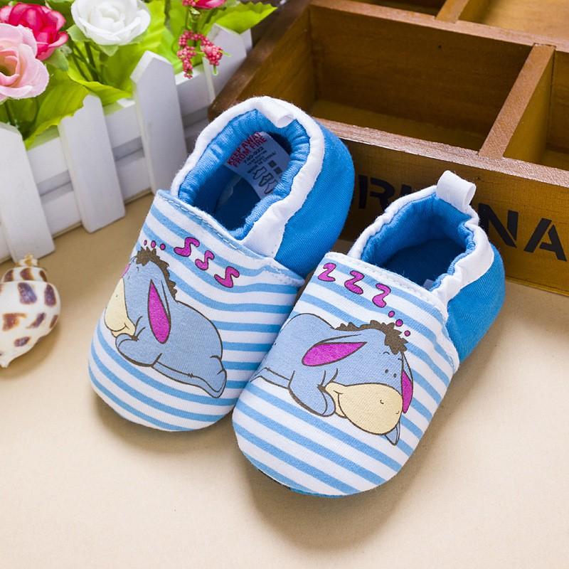 รองเท้าเด็กอ่อน 0-12เดือน รองเท้าเด็กชาย เด็กหญิง ลายการ์ตูน อียอร์