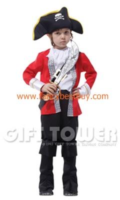 ชุดแฟนซีเด็กโจรสลัด Captain Hook Pirate มี ขนาด L, XL