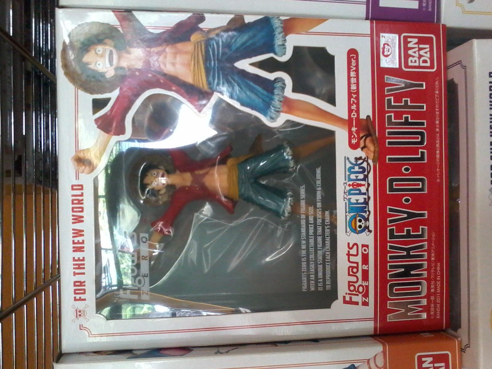 Figuarts Zero: Luffy New World version 1800y