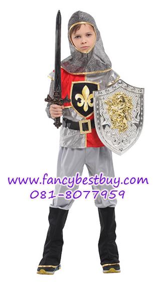 ชุดแฟนซีเด็กแบบชุดนักรบโรมันหรือชุดอัศวินหรือชุดทหารเสือ มีขนาด M, XL