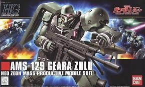 HGUC 1/144 102 Geara Zulu 1800y