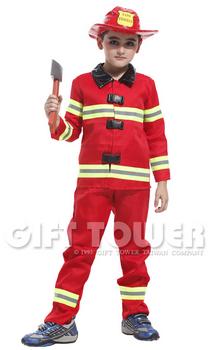 ชุดแฟนซีนักดับเพลิงเด็ก Fireman ใส่ได้ทั้งเด็กชายหญิง ขนาด M, L, XL