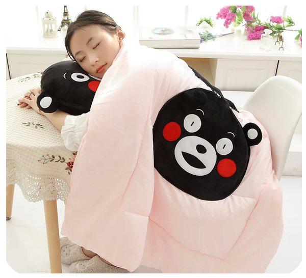 หมอนผ้าห่ม คุมะมง Kumamon (มีให้เลือก 4 แบบ)