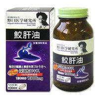 Noguchi Medical Research Institute shark liver Oil ใช้บำรุงสุขภาพและสำหรับผู้ที่ต้องการความอ่อนเยาว์ตลอดกาล