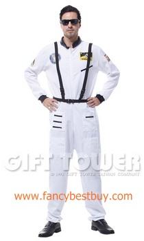 ชุดแฟนซีผู้ชาย ชุดนักบินอวกาศ Astronaut ขนาดฟรีไซด์