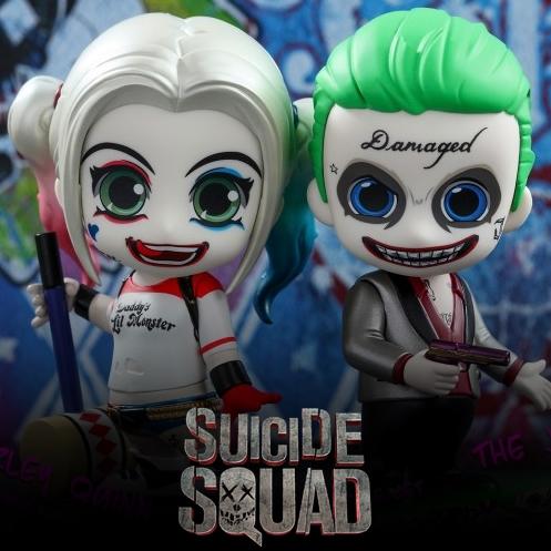Hot Toys – Cosbaby – The Joker & Harley Quinn (ของแท้)