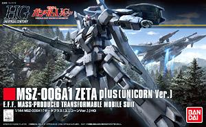 HGUC 1/144 182 Zeta Plus A1 Unicorn Ver 2400 y