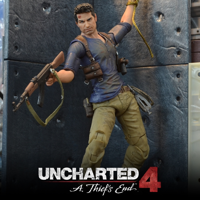 NECA : Nathan Drake Figure (Uncharted 4)
