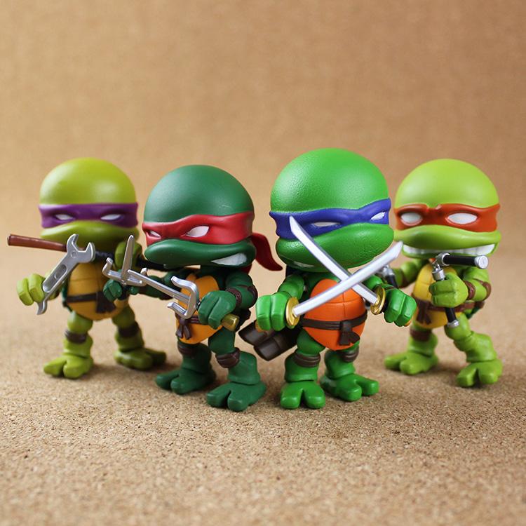 Teenage Mutant Ninja Turtles Figure (Set of 4)
