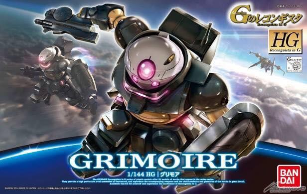 HG GS02 1/144 Grimoire 1400y