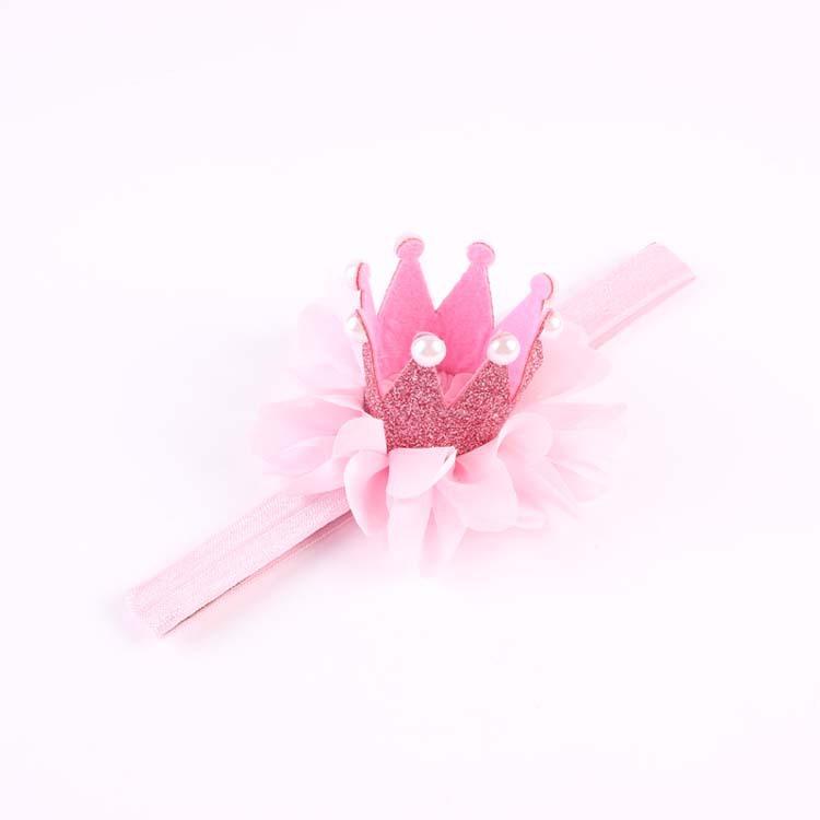 สายคาดผมสีชมพู รูปมุงกุฎเจ้าหญิง น่ารักมากๆค่ะ