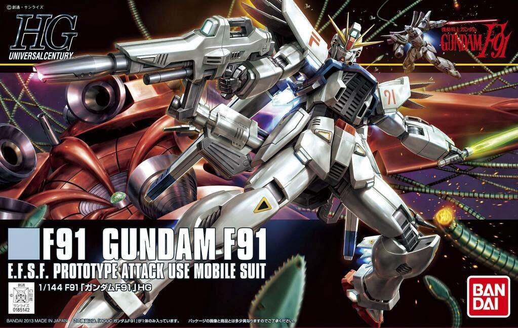HGUC 1/144 167 Gundam F91 1200y
