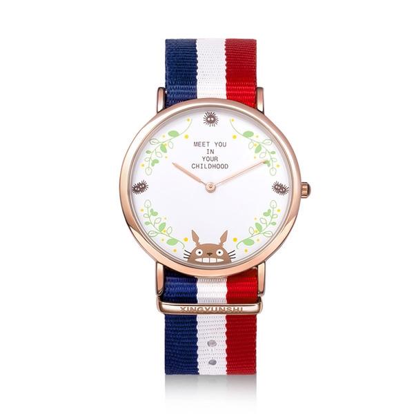 นาฬิกาข้อมือสายผ้า โทโทโร่ (ของแท้)