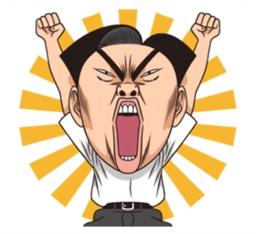 Moving Ike! Inachu Takkyu-bu Stickers