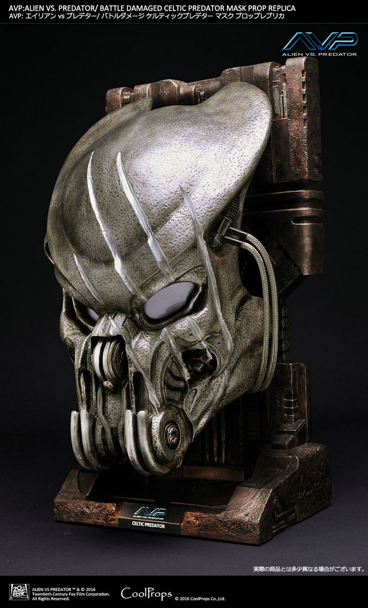 Alien VS Predator - Celtic Predator Mask CoolProps (ของแท้)