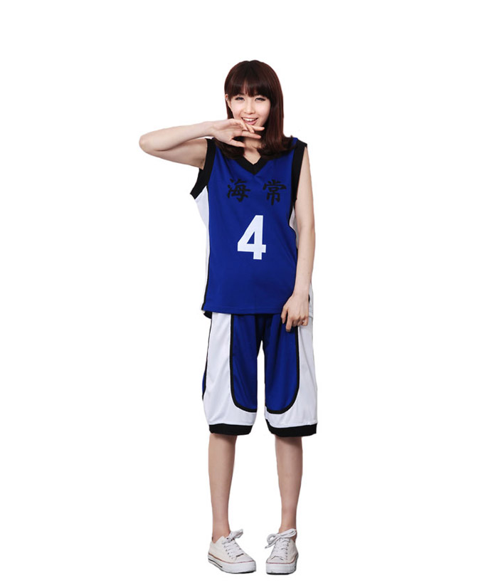 ชุดคอสเพลย์ Kuroko No Basket (คุโรโกะ โนะ บาสเก็ต) ทีม 7