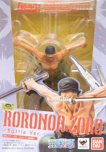 Figuarts Zero: Zoro Battle Ver. Rengoku (Lot DT อย่าดูสติ๊กเกอร์ในรูปนะครับ)