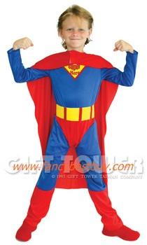 ชุดซูเปอร์แมน Super Hero แฟนซีเด็ก มีขนาด L, XL
