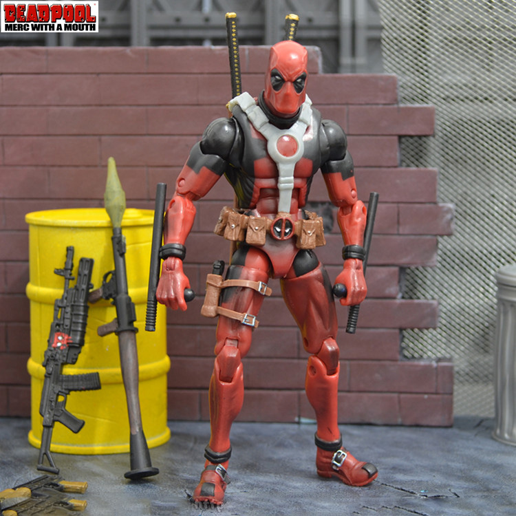 โมเดล Deadpool Marvel Legends