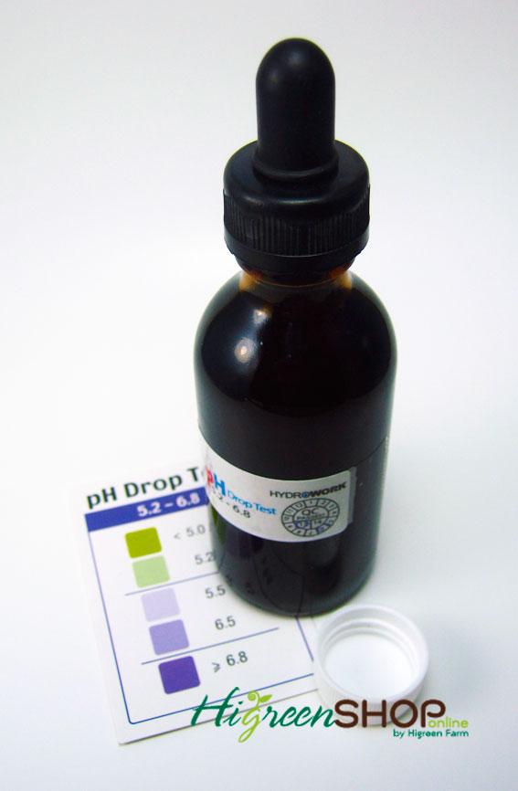น้ำยาวัดค่ากรด-ด่าง(Ph drop test) ขนาด 60 ml