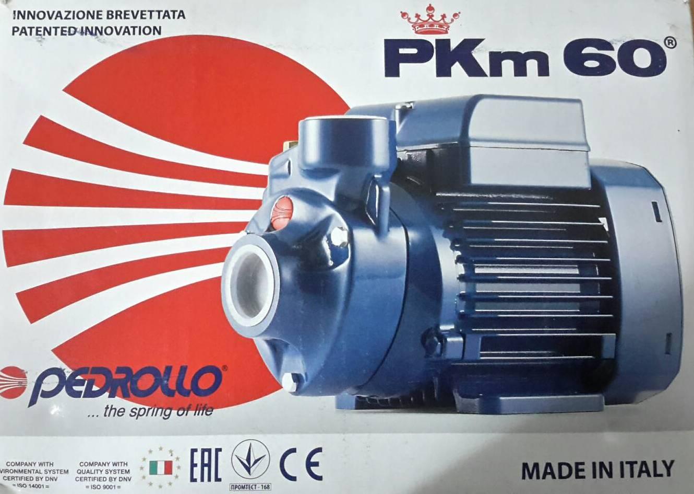 ปั๊มน้ำใบพัดเฟือง Pedrollo รุ่น PKM 60 ปั๊มน้ำคุณภาพสูง จากอิตาลี
