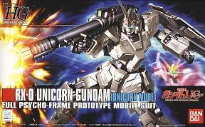 HGUC 1/144 101 Unicorn Gundam Unicorn Mode 1500y
