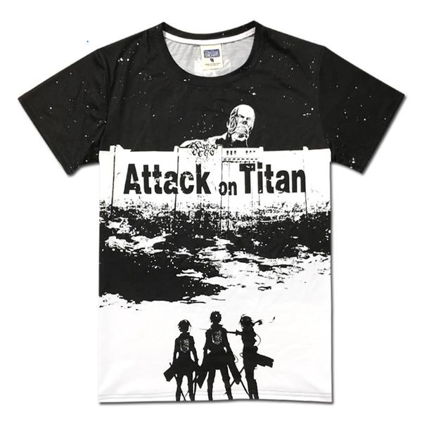 เสื้อ Attack on Titan (มีให้เลือก 6 แบบ)