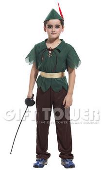 ชุดแฟนซีเด็กปีเตอร์แพน Peter Pan มีขนาด M, L, XL