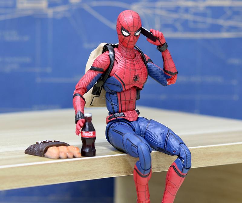 SH Figuarts - Spider-Man (Homecoming) (มีให้เลือก 7 แบบ)
