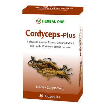 Herbal one ตังถั่งเฉ้า-พลัส 30 เม็ด Cordyceps-plus ถังเช่า