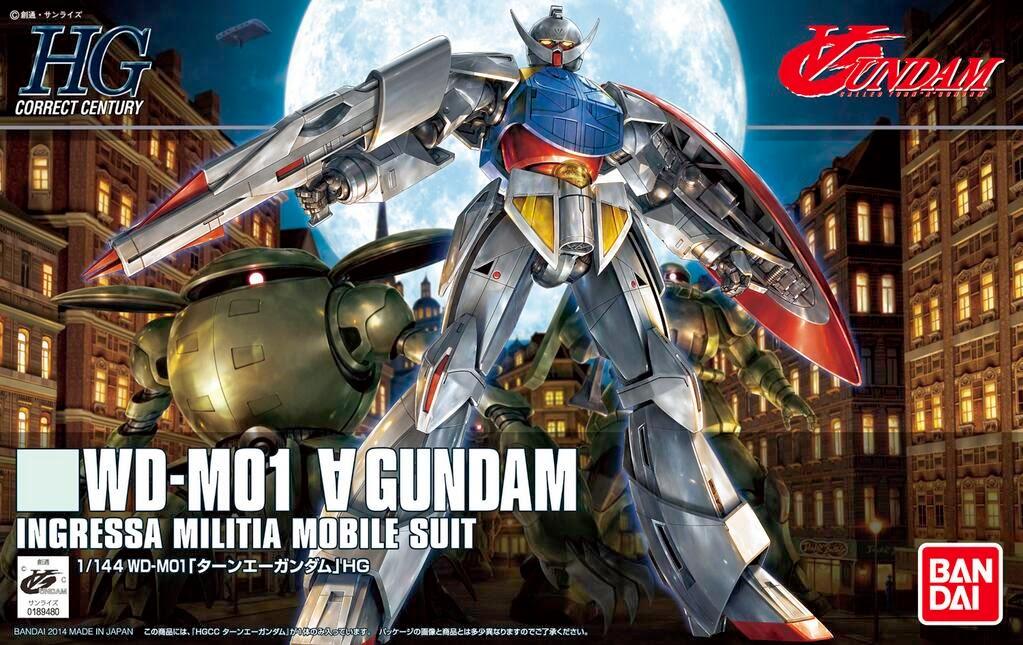 HGcc 1/144 177 Turn-A Gundam 1400
