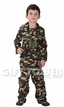 ชุดแฟนซีเด็กทหารพรานหน่วยรบพิเศษ Boy Soldier ขนาด S, M, L, XL, 2XL