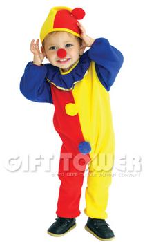 ชุดตัวตลกแฟนซีเด็กโบโซ่ BOSO Costume ใช้ได้ทั้งเด็กชายหญิง ขนาด S, M